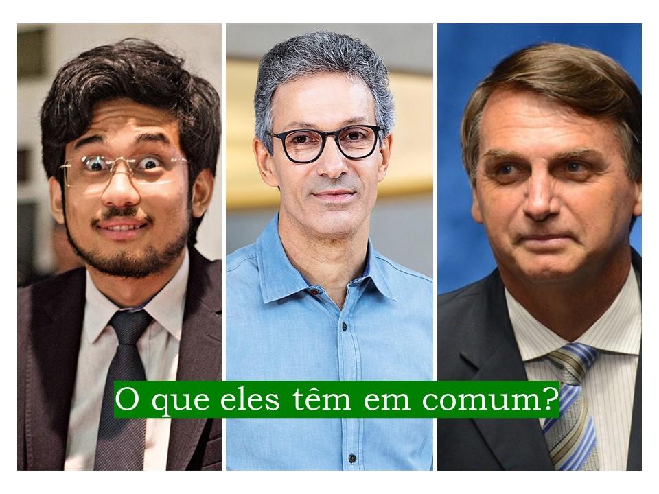 Kim, Zema e Bolsonaro: o que eles têm em comum?